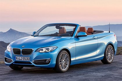 BMW 2 Cabrio 220d Luxury Line