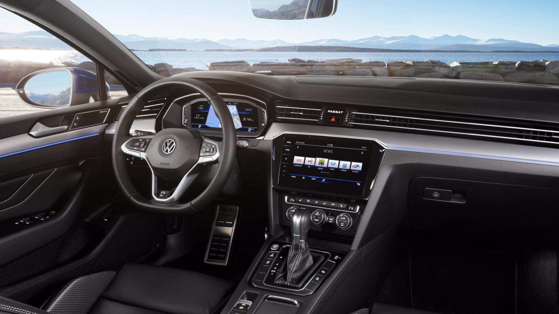 VW Passat (Variant) interiér