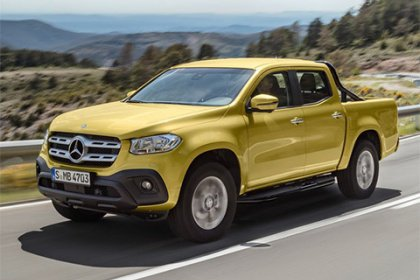 Mercedes-Benz X-class 250 d 4MATIC AT PROGRESSIVE