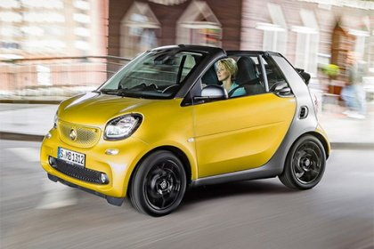 Smart fortwo cabrio 1.0 52 kW automat Proxy