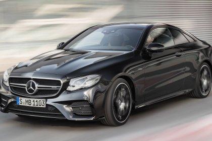 Mercedes-Benz E kupé 400 d 4MATIC AT Základní výbava